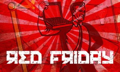 Abrimos el fin de semana con otro Red Friday 90