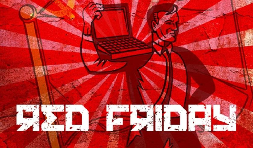 Abrimos el fin de semana con otro Red Friday