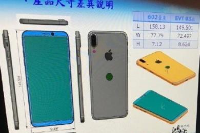 Filtrado el posible diseño esquemático del iPhone 8
