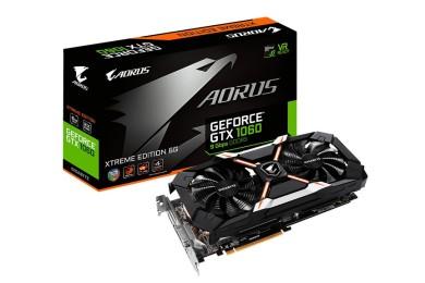 GIGABYTE anuncia AORUS GeForce GTX 1060 6 GB Xtreme Edition 9 Gbps