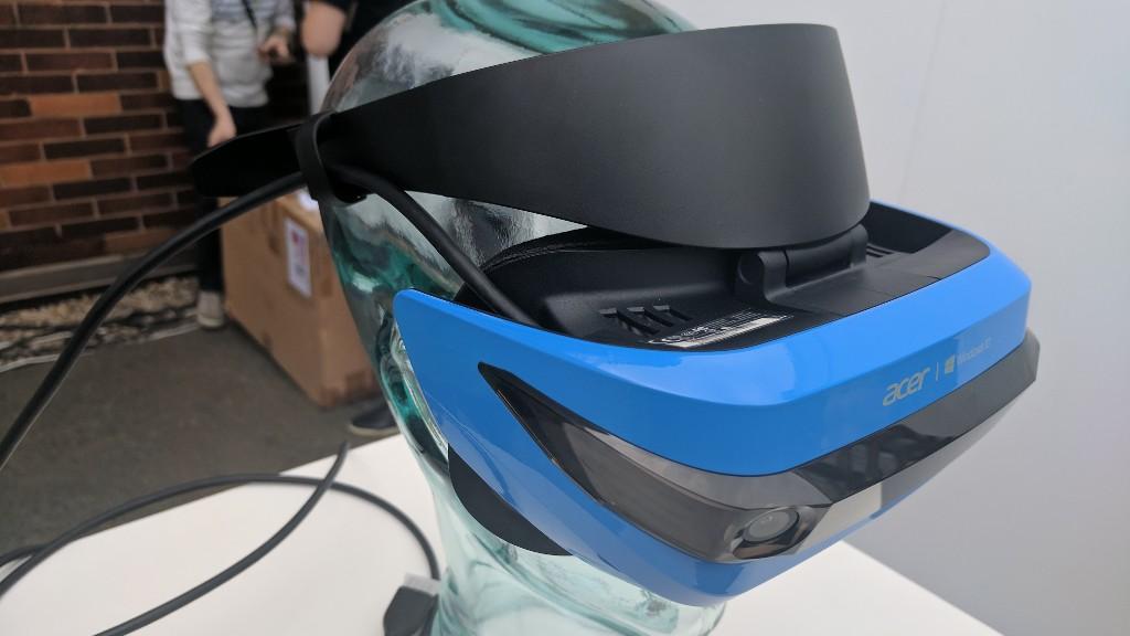 Acer presenta su caso Mixed Reality HMD