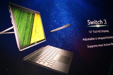 Acer Switch: detachables de buen nivel a precio contenido