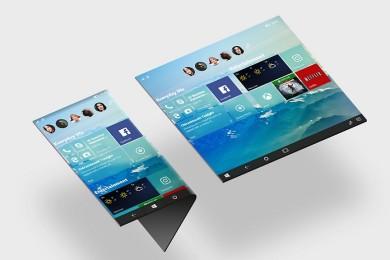 Así podría ser la nueva interfaz adaptativa para Windows 10
