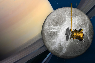 La NASA rinde homenaje al gran final de la sonda Cassini