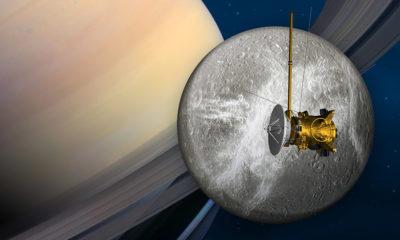 La NASA rinde homenaje al gran final de la sonda Cassini 87