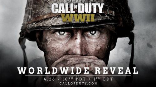 Call of Duty WWII anunciado oficialmente, todo lo que debes saber