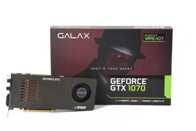 Análisis de la GALAX GeForce GTX 1070 de un único slot