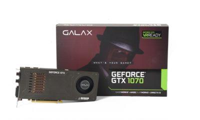 Análisis de la GALAX GeForce GTX 1070 de un único slot 48