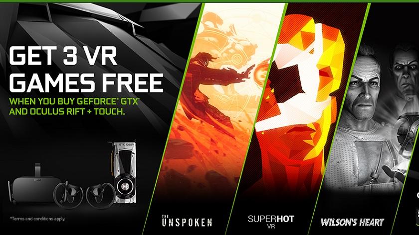 NVIDIA confirma el GeForce GTX Oculus Bundle con tres juegos gratis 30