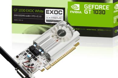 GeForce GT 1030, la gráfica más barata de NVIDIA es muy real