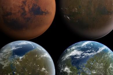 """¿Hubo árboles en Marte? Eso dice un conocido """"cazador de aliens"""""""