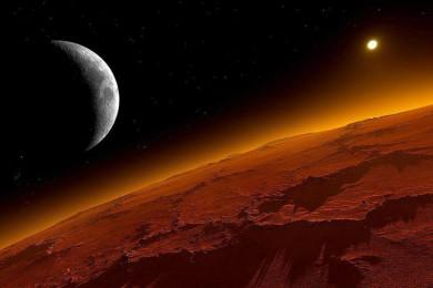 """Este vídeo nos permite """"volar"""" sobre Marte de una forma única"""
