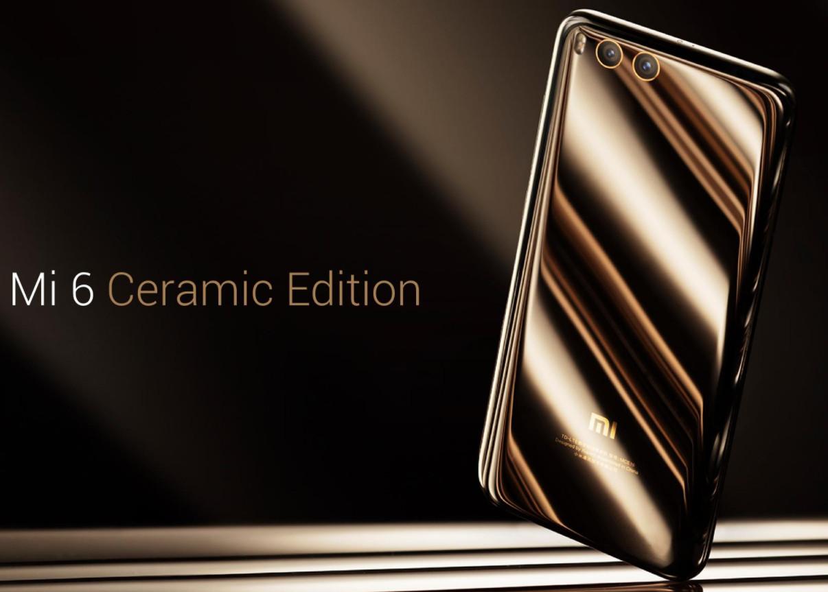 Edición con chasis cerámico del Xiaomi Mi 6