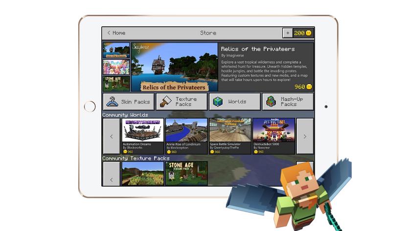 Minecraft tendrá microtransacciones que permitirán comprar objetos 27