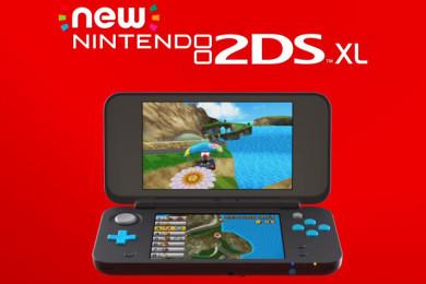 Nintendo presenta nueva consola portátil, New 2DS XL