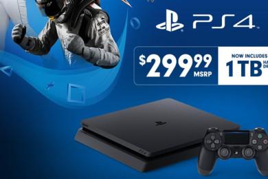 Sony baja el precio de la PS4 Slim de 1 TB