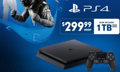 PS4 Slim de 1 TB