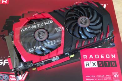 eBay vende una MSI RX 570, lanzamiento Radeon 500
