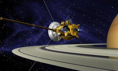 Casssini sale ilesa de su primera incursión entre los anillos de Saturno 79