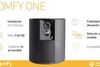 Somfy One, nueva solución todo en uno para proteger tu hogar