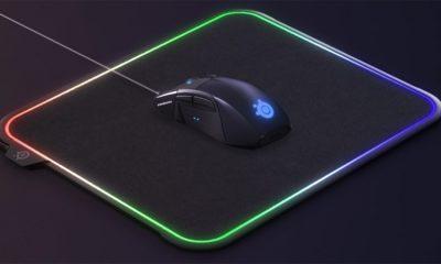 SteelSeries lleva la pasión por las luces LED a otro nivel con esta alfombrilla para ratón 86