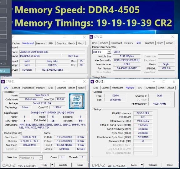 Trident Z DDR4 a 4.333 MHz (2)