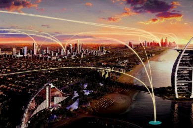 Uber quiere probar sus taxis voladores en 2020