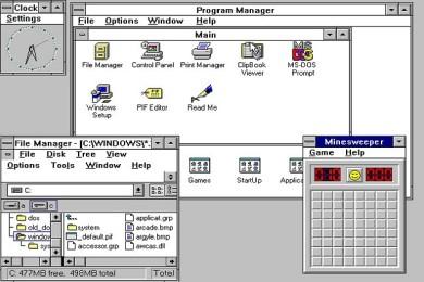 """Windows 3.1 cumple hoy 25 años, todo un """"abuelo tecnológico"""""""