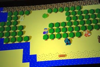 Breath of the NES, un tributo a Breath of the Wild  en 2D