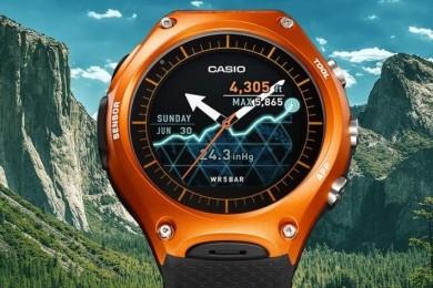 Casio pasa por caja y Microsoft hace negocio con los relojes Android