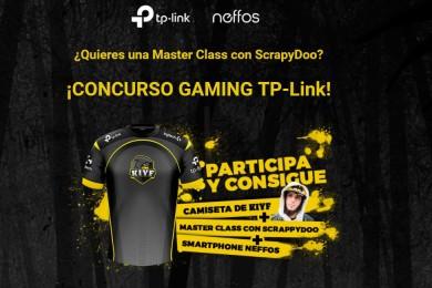 ¡Participa en nuestro concurso gaming TP-Link y gana una Master Class con ScrapyDoo!