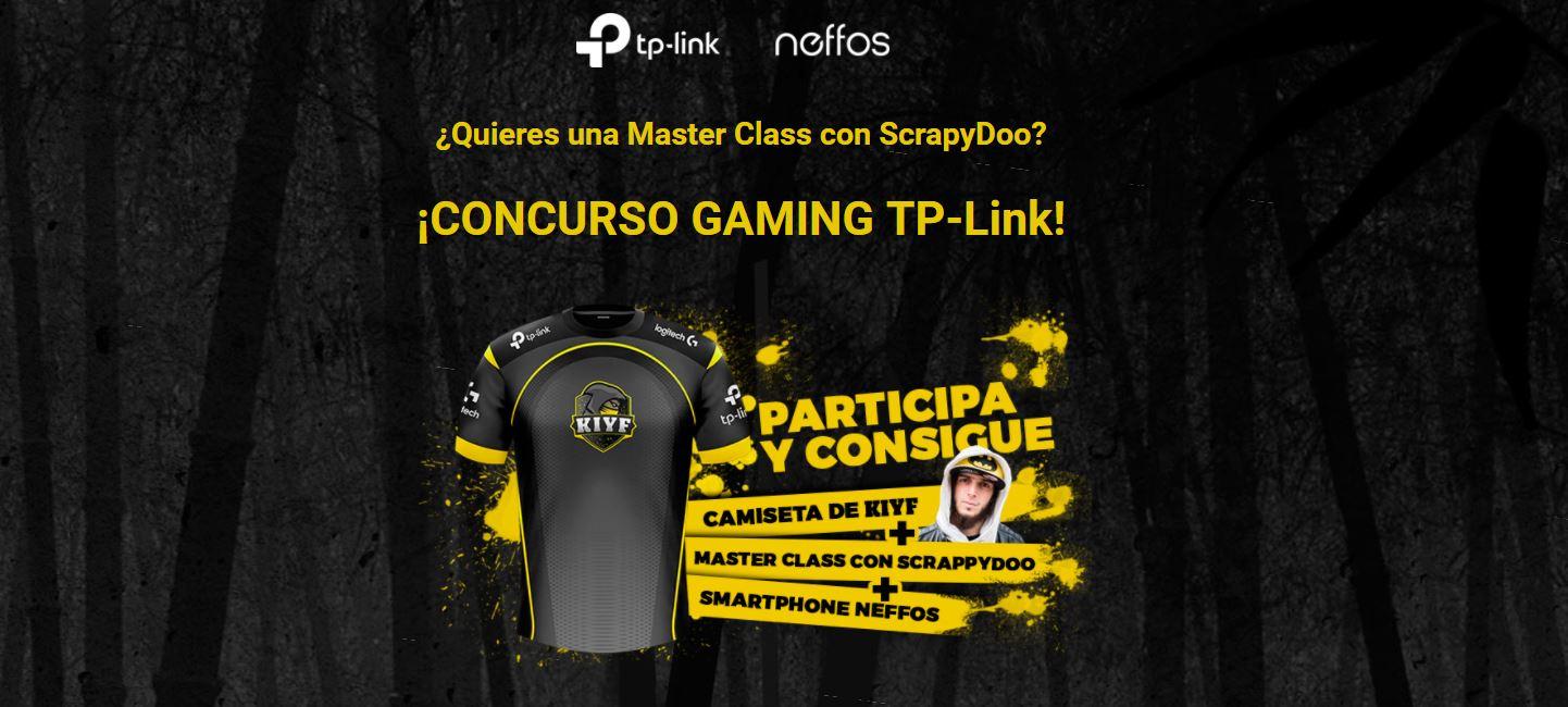 ¡Participa en nuestro concurso gaming TP-Link y gana una Master Class con ScrapyDoo! 31