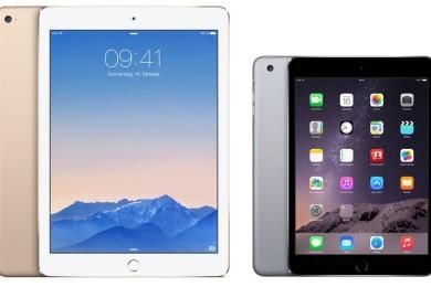 Apple empieza a dar iPad Air 2 como unidad de sustitución por iPad 4