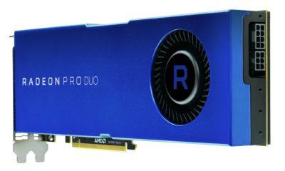 AMD anuncia la nueva Radeon Pro Duo con dos GPUs Polaris 10 30
