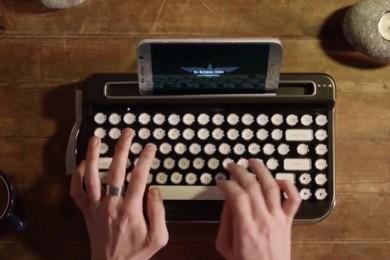 Penna, un teclado Bluetooth con alma de vieja máquina de escribir