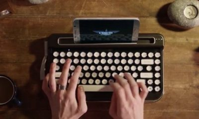 Penna, un teclado Bluetooth con alma de vieja máquina de escribir 60