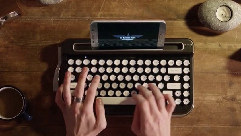 Penna, un teclado Bluetooth con alma de vieja máquina de escribir 29