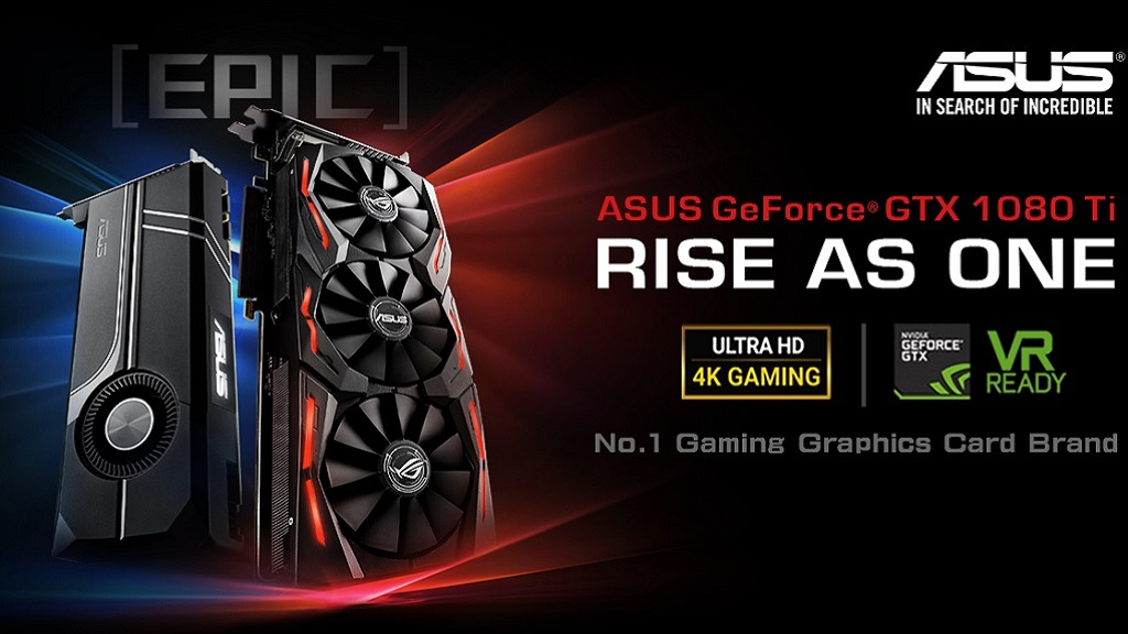 ASUS presenta tres GTX 1080 TI personalizadas, especificaciones y precio 28