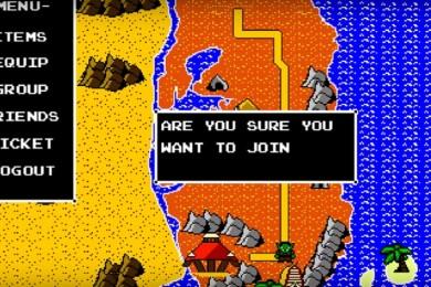 Humor: Así podría ser un World of Warcraft para NES