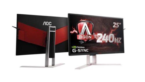 Nuevo monitor AGON AG251FG con G-Sync de NVIDIA