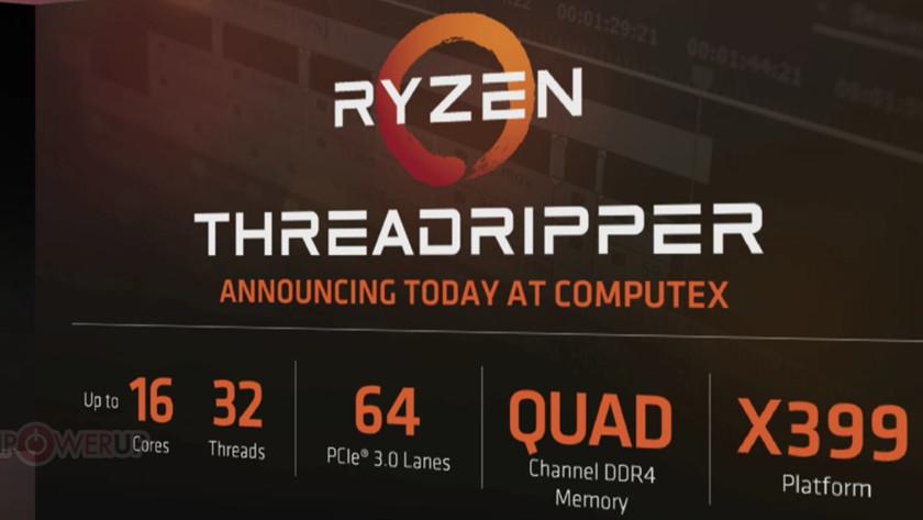 AMD Threadripper vs. Intel Core X: duelo en el Computex 39