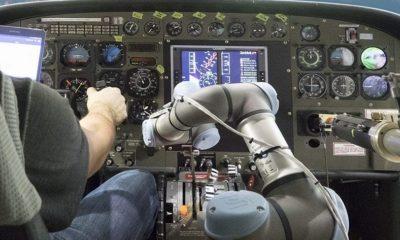 Un robot ha logrado aterrizar un Boeing 737 en un simulador 49