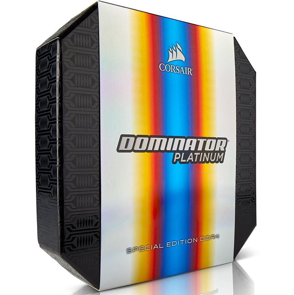 Special Platinum: Corsair Anuncia Nueva RAM DDR4 Dominator Platinum Special