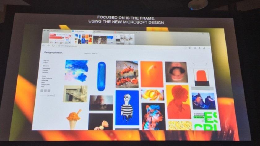 Microsoft muestra Edge con Fluent Design 29