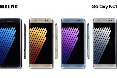El Galaxy Note 7 restaurado se llamará Galaxy Note FE