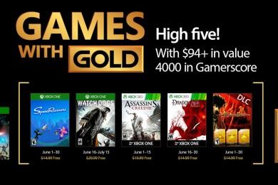 Juegazos gratis para Xbox en el Games with Gold de junio