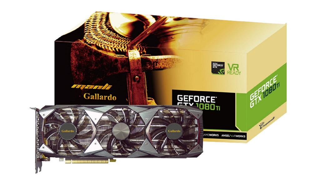 Manli anuncia la GeForce GTX 1080 Ti Gallardo 28