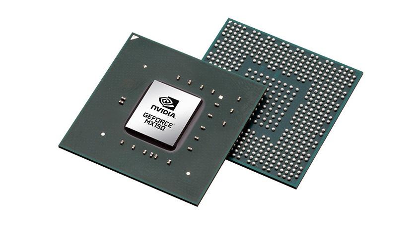 NVIDIA anuncia oficialmente la GeForce MX150 para portátiles 32