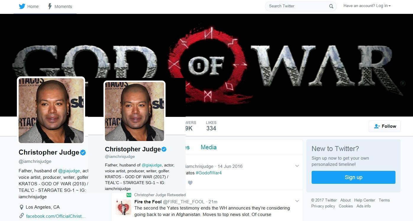 Actor de doblaje confirma que god of war para ps4 llegar for Pececillo nuevo de cualquier especie