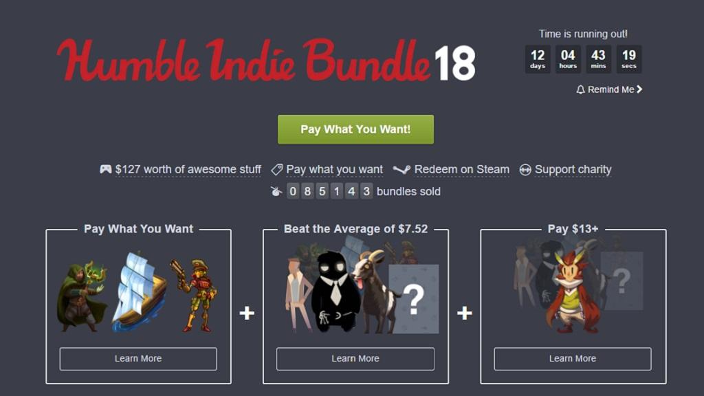 Nuevo Humble Bundle 18 dedicado a Windows, Mac y Linux 29